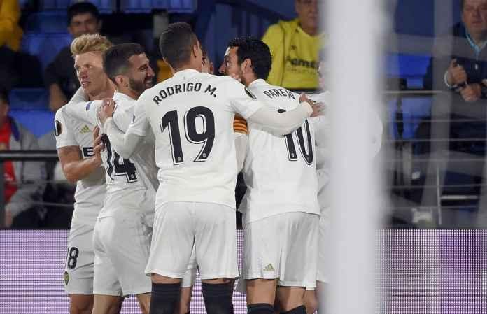 Hasil Villarreal vs Valencia dalam laga leg pertama babak perempat final Liga Europa