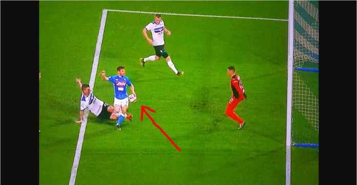 Hasil Napoli vs Atalanta 1-2, La Dea Samai Poin AC Milan