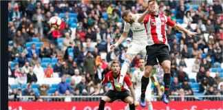 Lihat Sundulan Karim Benzema Legakan Hati Real Madrid