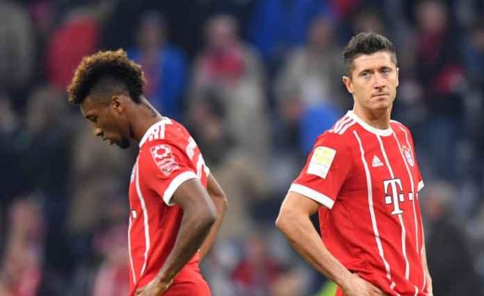 Kingsley Coman dan Robert Lewandowski, Bayern Munchen