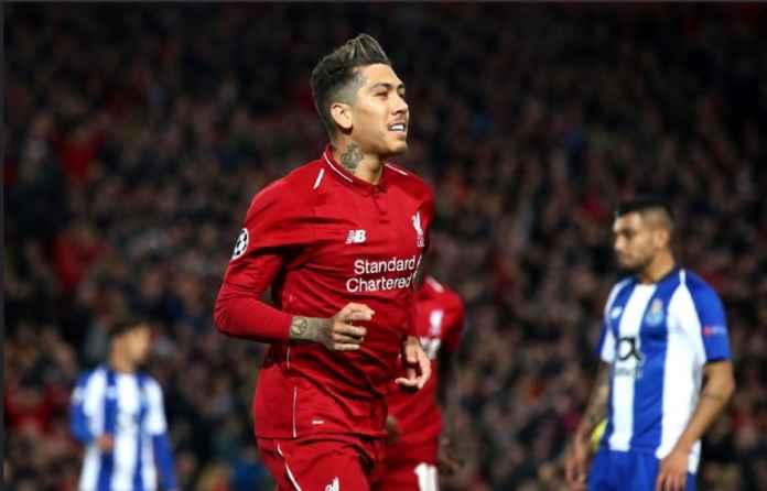 Roberto Firmino Ukir Catatan Apik Bersama Liverpool di Liga Champions