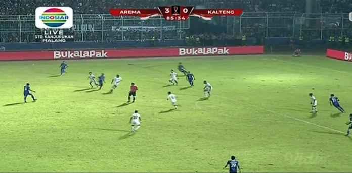 Hasil Arema FC vs Kalteng Putra Skor 3-0, Singo Edan Menang Telak di Leg Pertama