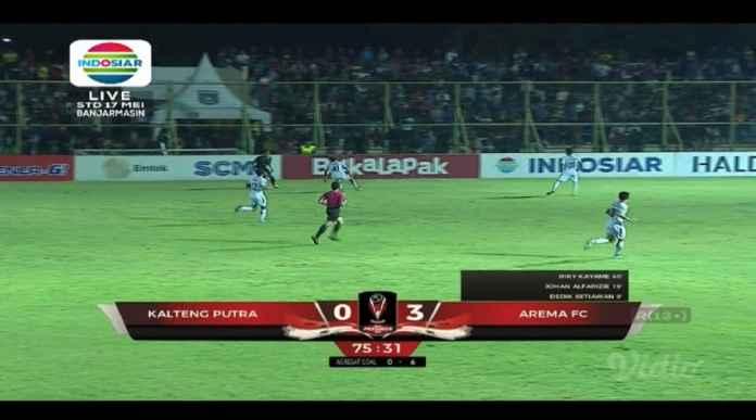 Hasil Kalteng Putra vs Arema FC Skor 0-3, Arema FC Melenggang ke Final