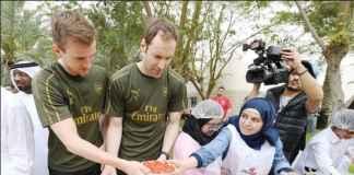 Pemain Arsenal Diklaim Tak Peduli Asupan Nutrisi Mereka