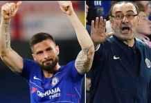 Maurizio Sarri Tegaskan Olivier Giroud Tetap di Chelsea Musim Depan