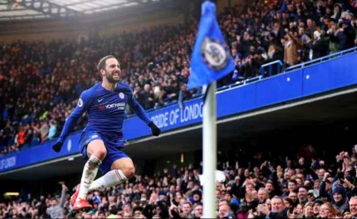 Gonzalo Higuain Ungkap Tekanan di Chelsea Jelang Hadapi Burnley
