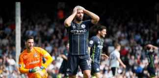 Sergio Aguero Absen Saat Manchester City Menjamu Cardiff
