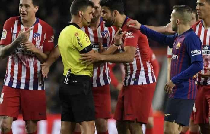 Atletico Madrid Gagal Perjuangkan Sanksi Diego Costa