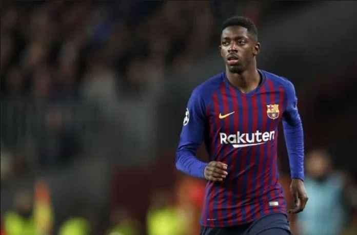 Pelatih Barcelona Sayangkan Ousmane Dembele Berbeda Usai Cedera