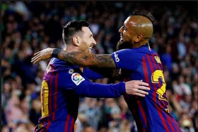 Arturo Vidal Menangkan Gelar Liga Ke-8 di Barcelona