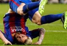 Bek Manchester United akan menghadapi Lionel Messi di laga Liga Champions