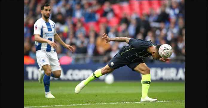 Hasil Manchester City vs Brighton 1-0 di Piala FA, Gol Sundulan Aneh Gabriel Jesus