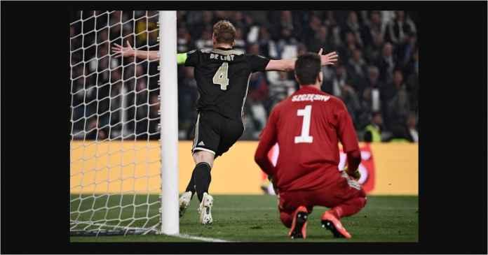 Hasil Juventus vs Ajax 1-2, Bianconeri Gagal! Ronaldo Menangis!