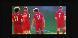 Penalti Liverpool : Lihat Wajah Kecewa Mo Salah Bola Direbut Milner