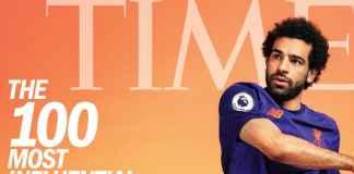 Mohamed Salah, masuk daftar Time 100 Most Influential People