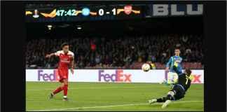 Hasil Napoli vs Arsenal 0-1, The Gunners Masih Terlalu Kuat!