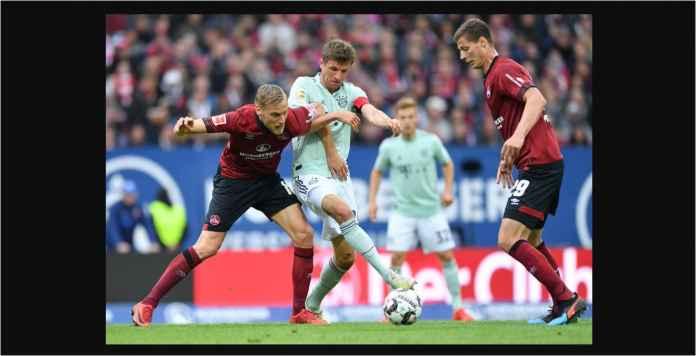 Hasil Nurnberg vs Bayern Munchen 1-1, Die Roten Buang Peluang