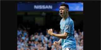 Phil Foden Jadi Pemain Remaja Kedua Cetak Gol Bagi Manchester City