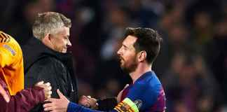 Ole Gunnar Solskjaer dan Lionel Messi
