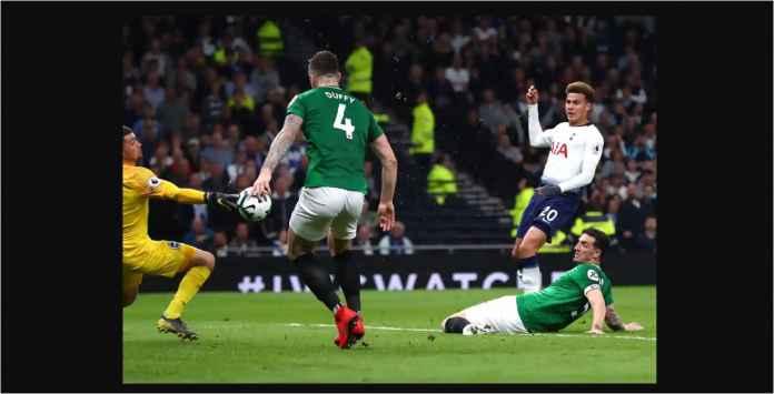 Hasil Tottenham Hotspur vs Brighton 1-0, Dominan Tapi Cuma Satu Gol