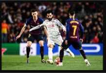 Pemain Barcelona Ini Leyeh-leyeh di Gawang Saat Mo Salah Menyerang