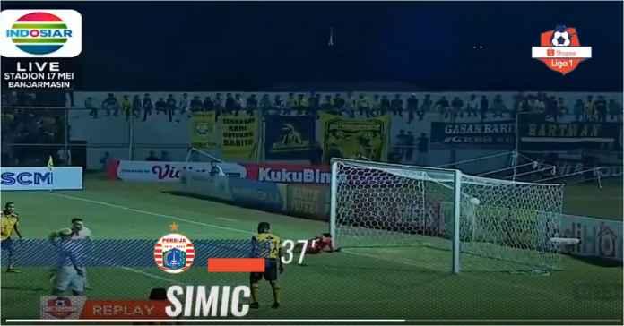 Barito Putera vs Persija Jakarta Hasil 0-1