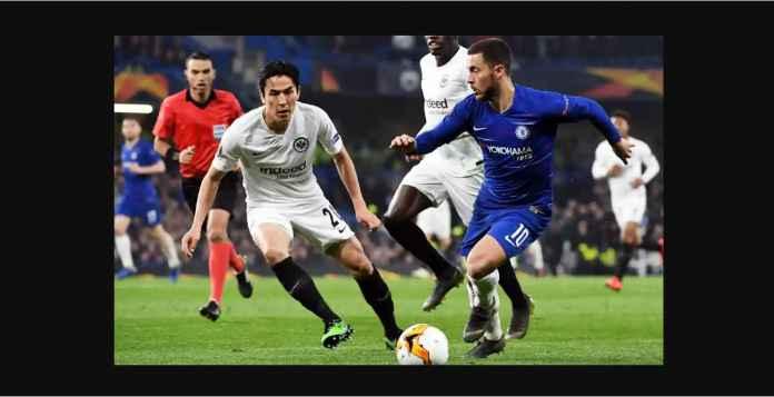 Hasil Chelsea vs Eintracht Frankfurt 1-1 Agregat 2-2 Penalti 4-3