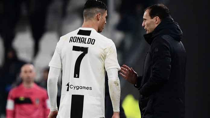 Cristiano Ronaldo dan Massimiliano Allegri, Juventus