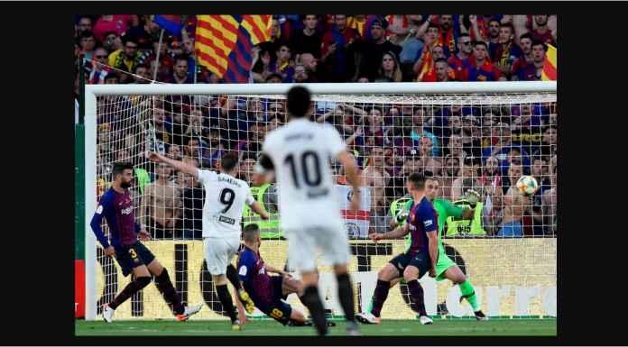 Hasil Barcelona vs Valencia 1-2, Messi Kalah Lawan Serangan Balik