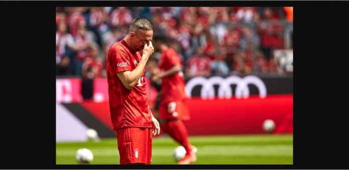 Franck Ribery Menangis Cetak Gol Pada Laga Terakhir Bayern Munchen