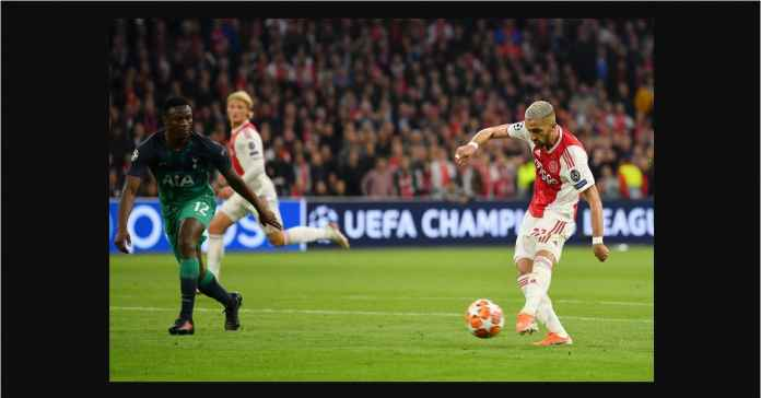 Gol Hakim ZIyech, Hasil Ajax Amsterdam vs Tottenham Hotspur, Liga Champions