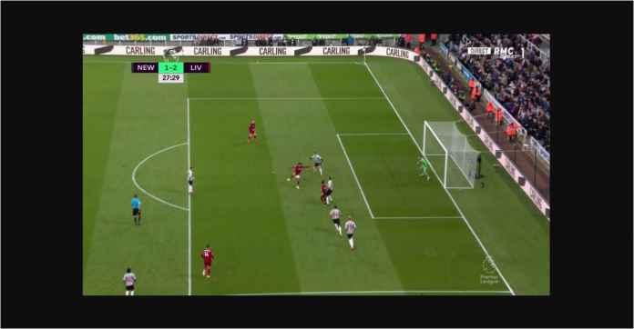 Sebelum Cetak Gol Mohamed Salah Ajak Pemain Newcastle Jalan-jalan