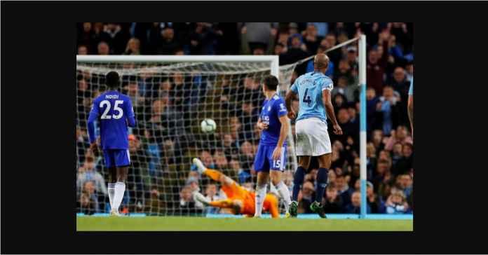 Lihat Gol Vincent Kompany yang Bikin Liverpool Menangis