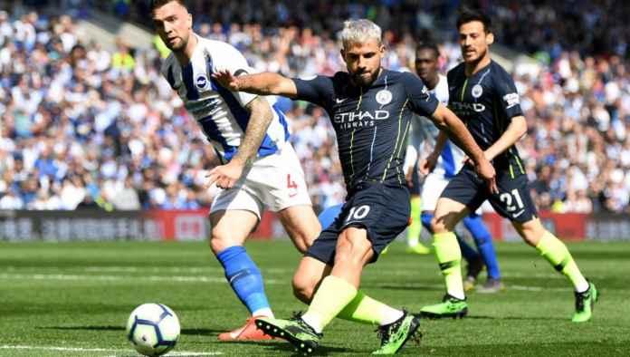 Hasil Brighton vs Manchester City di pekan terakhir Liga Inggris