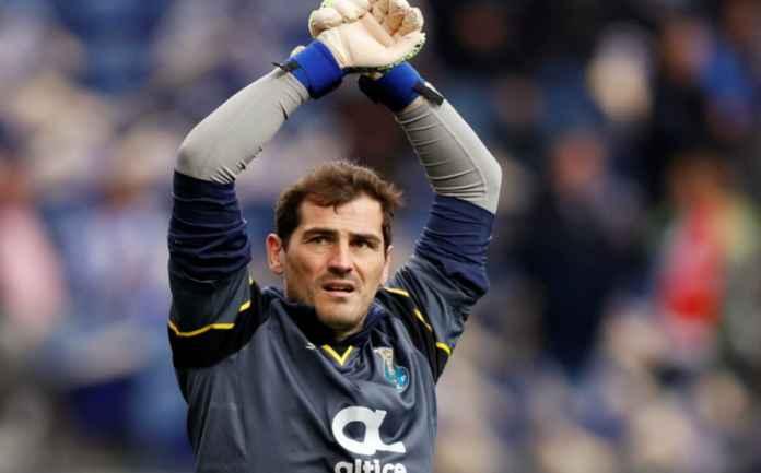 Iker Casillas Pensiun Karena Dipaksa FC Porto