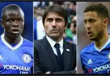 Conte Lebih Suka Kante Bukan Eden Hazard di Chelsea