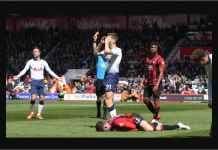 Hasil Bournemouth vs Tottenham 1-0, Kejamnya Dua Kartu Merah