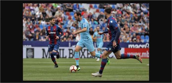 Hasil Levante vs Atletico Madrid 2-2, Modal 10 Pemain Masih Bisa Imbang