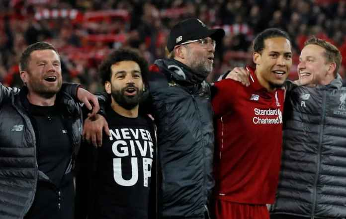 Mohamed Salah Minta Fans Liverpool Pindahkan Anfield ke Madrid