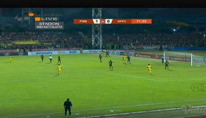 PSM Makassar vs Semen Padang Skor 1-0, Kabau Sirah Terlambat