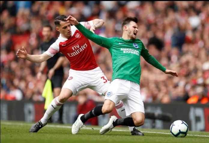 Granit Xhaka Bukukan Rekor Penalti di Arsenal