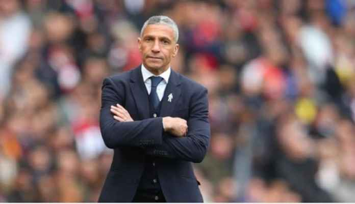 Brighton Pecat Pelatih Chris Hughton