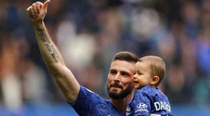 Olivier Giroud Perpanjang Kontrak di Chelsea