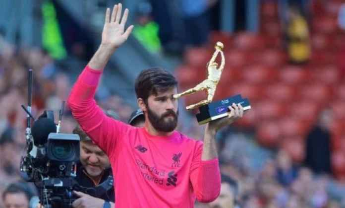 Raih Golden Glove, Alisson Becker Lampaui Rekor Kiper Legendaris Liverpool