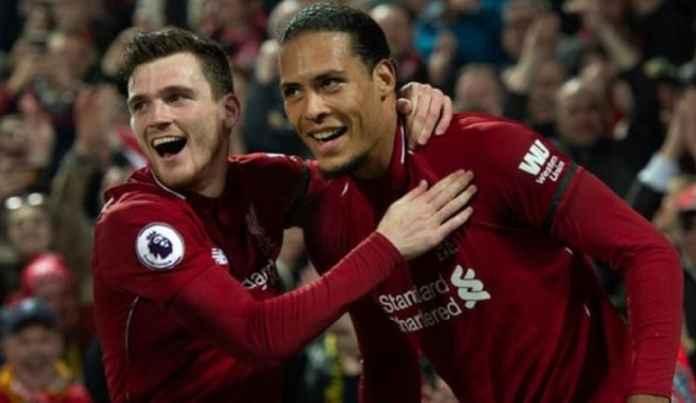 Andy Robertson dan Virgil van Dijk Tak akan Tinggalkan Liverpool