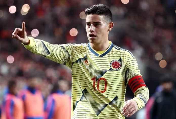 Liverpool Ikut Dikaitkan dengan Transfer James Rodriguez