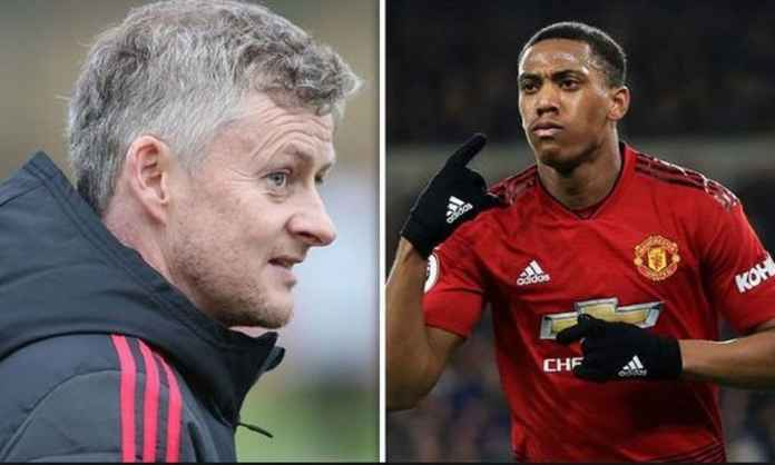 Manchester United Tolak Permintaan Solskjaer Jual Anthony Martial