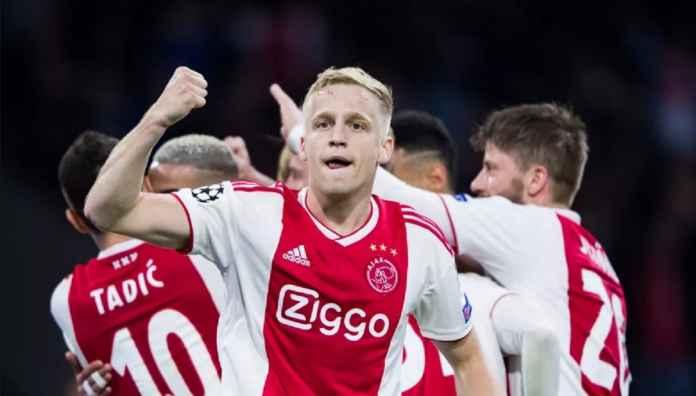 Ajax Peringatkan Juventus dan Hotspur Terkait Donny van de Beek