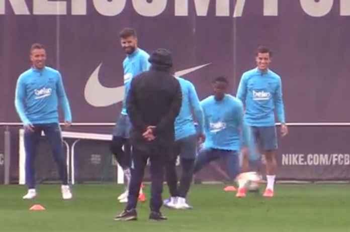 Barcelona vs Valencia: Philippe Coutinho dan Arthur Kembali Berlatih