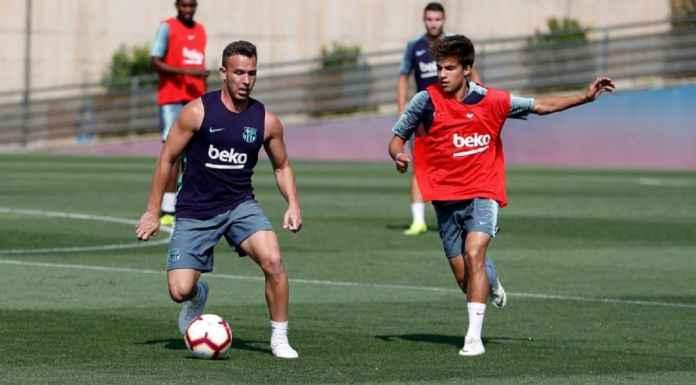 Arthur Kembali Latihan Jelang Barcelona ke Final Copa del Rey